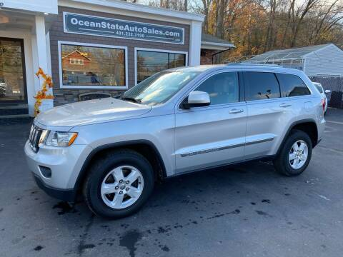 2012 Jeep Grand Cherokee for sale at Ocean State Auto Sales in Johnston RI