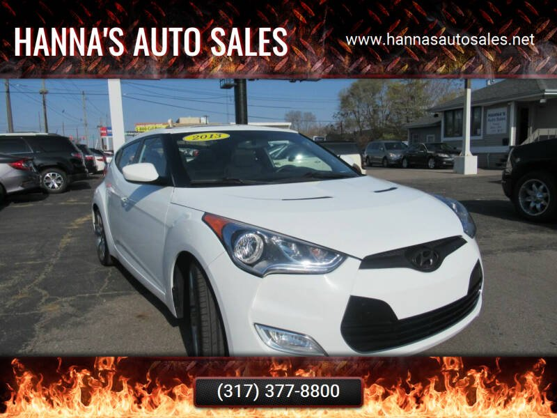2013 Hyundai Veloster for sale at Hanna's Auto Sales in Indianapolis IN