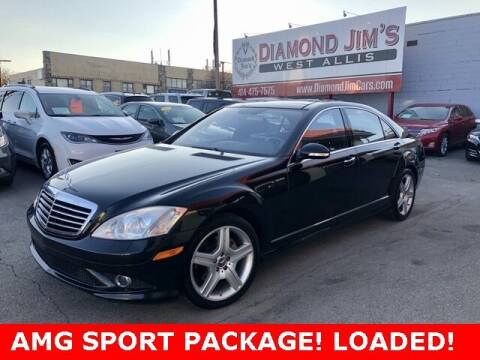 2007 Mercedes-Benz S-Class for sale at Diamond Jim's West Allis in West Allis WI