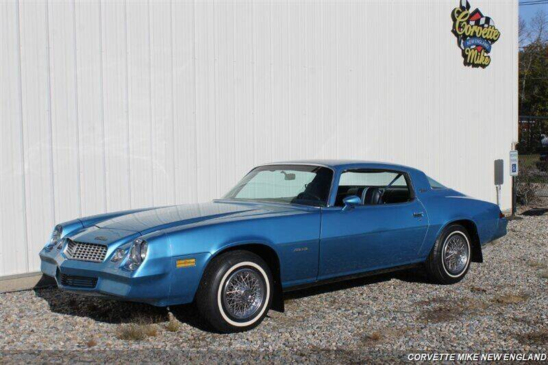 1980 Chevrolet Camaro for sale at Corvette Mike New England in Carver MA