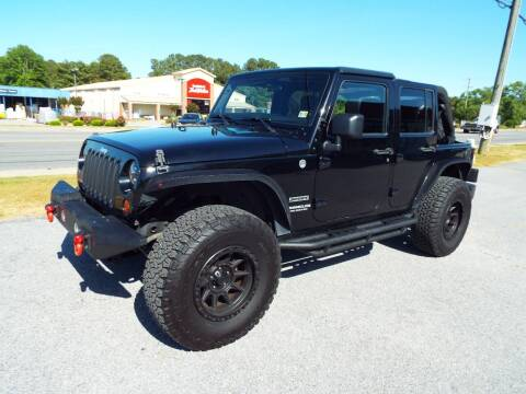 2011 Jeep Wrangler Unlimited for sale at USA 1 Autos in Smithfield VA