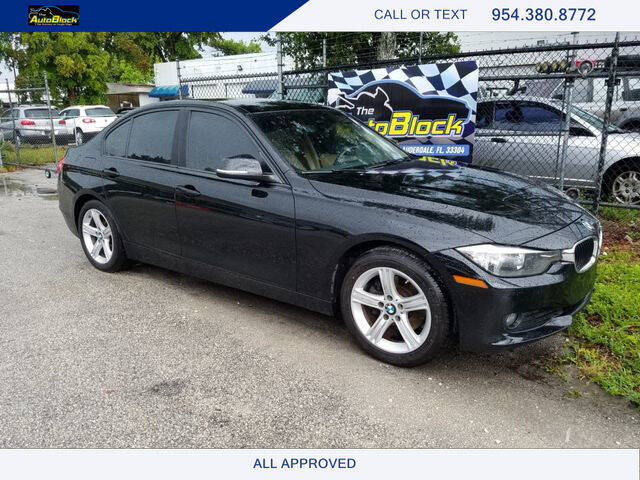 2015 BMW 3 Series for sale at The Autoblock in Fort Lauderdale FL