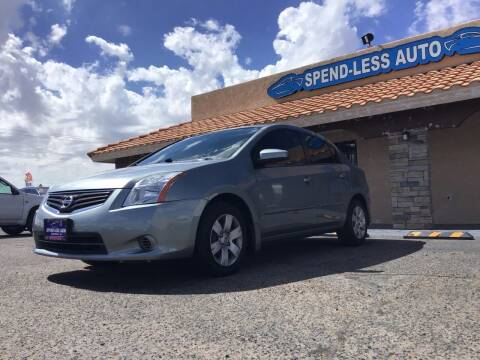 2012 Nissan Sentra for sale at SPEND-LESS AUTO in Kingman AZ