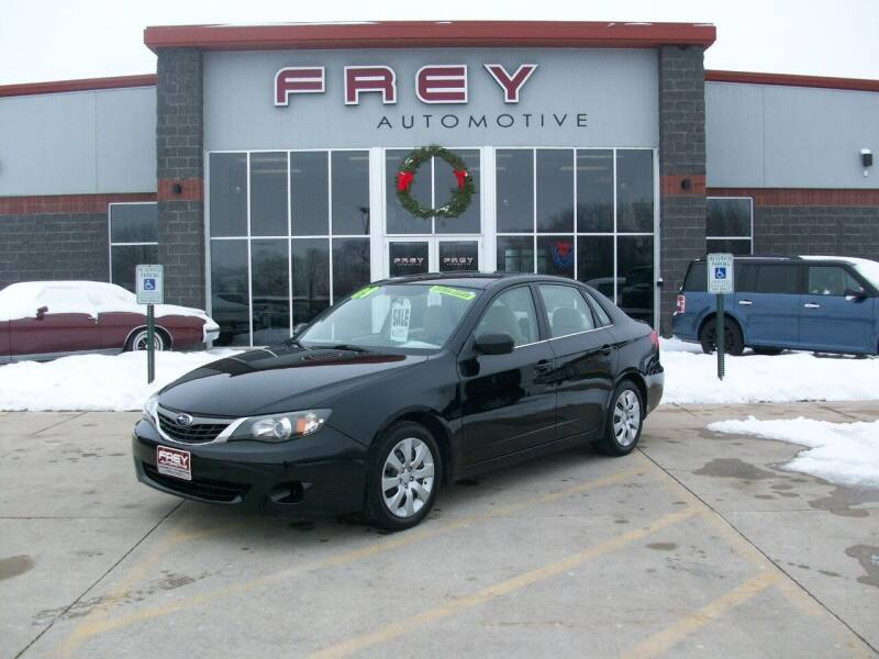 2009 Subaru Impreza for sale at Frey Automotive in Muskego WI