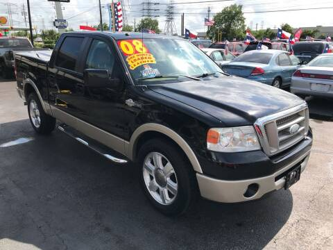 2008 Ford F-150 for sale at Texas 1 Auto Finance in Kemah TX