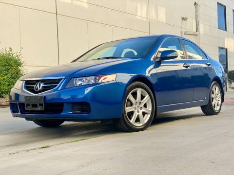 2004 Acura TSX for sale at New City Auto - Retail Inventory in South El Monte CA
