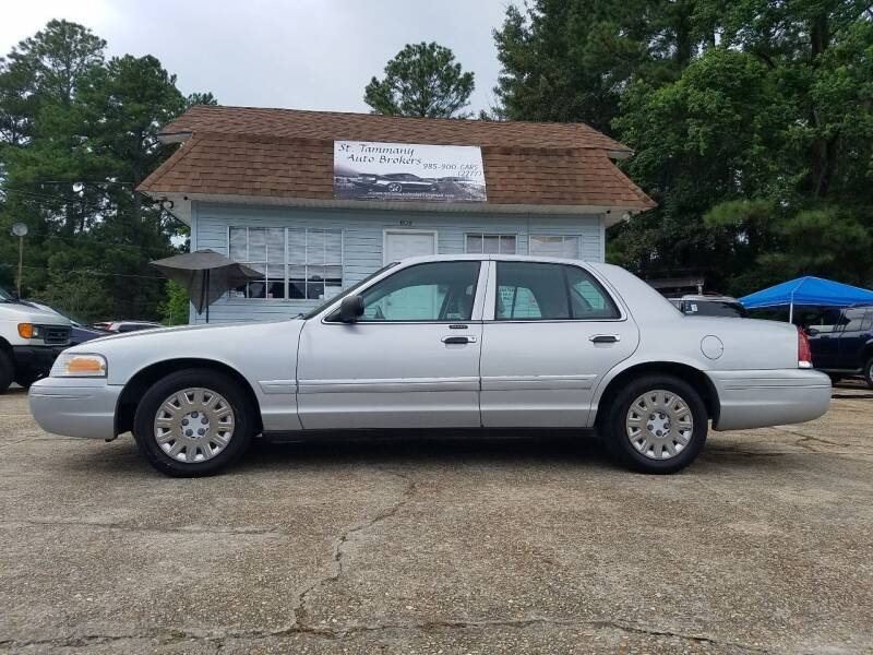 2003 Ford Crown Victoria for sale at St. Tammany Auto Brokers in Slidell LA