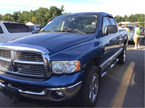 2005 Dodge Ram Pickup 1500 for sale at Irving Auto Sales in Whitman MA