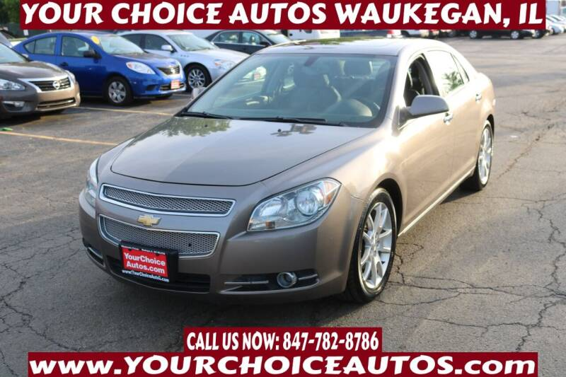 2012 Chevrolet Malibu for sale at Your Choice Autos - Waukegan in Waukegan IL