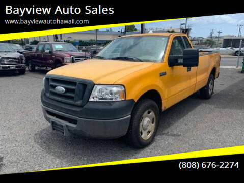 2007 Ford F-150 for sale at Bayview Auto Sales in Waipahu HI