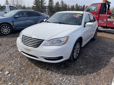 2013 Chrysler 200 for sale at Al's Auto Inc. in Bruce Crossing MI