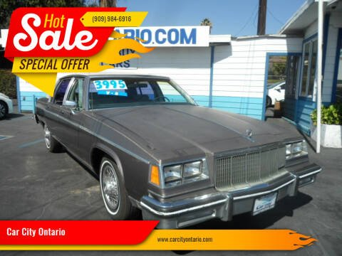 1984 Buick Electra for sale at Car City Ontario in Ontario CA