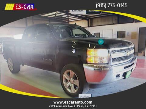 2013 Chevrolet Silverado 1500 for sale at Escar Auto in El Paso TX