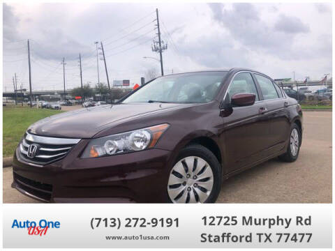 2012 Honda Accord for sale at Auto One USA in Stafford TX