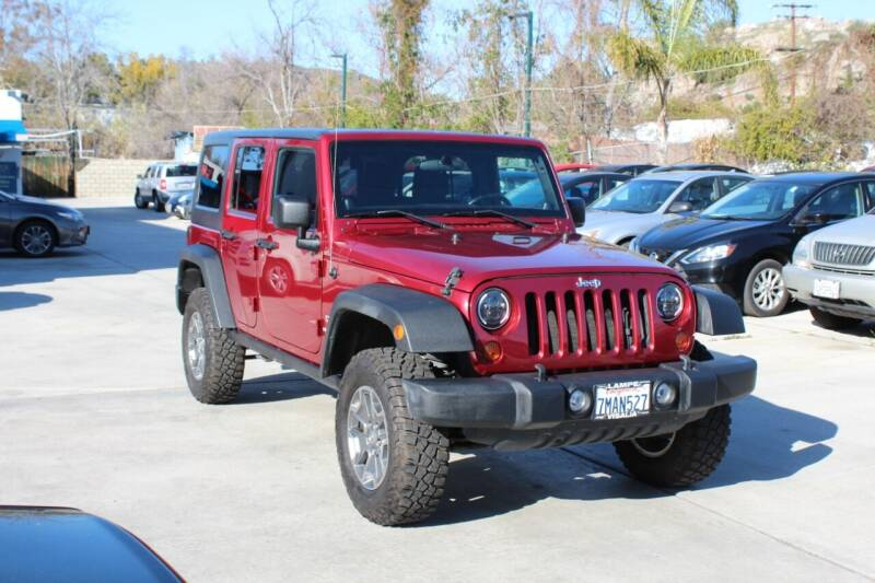 2012 Jeep Wrangler Unlimited for sale at Car 1234 inc in El Cajon CA