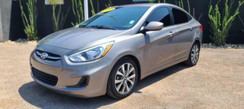 2017 Hyundai Accent for sale at Fast Trac Auto Sales in Phoenix AZ