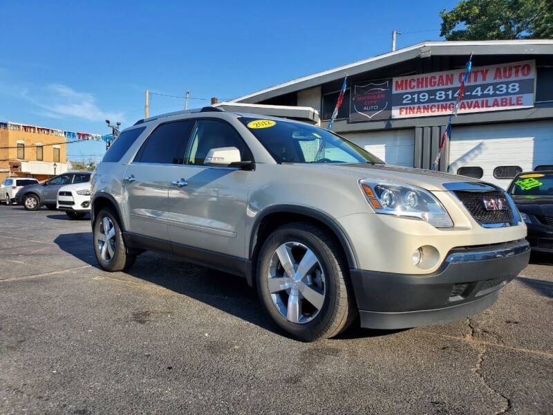 2012 GMC Acadia for sale in Michigan City, IN