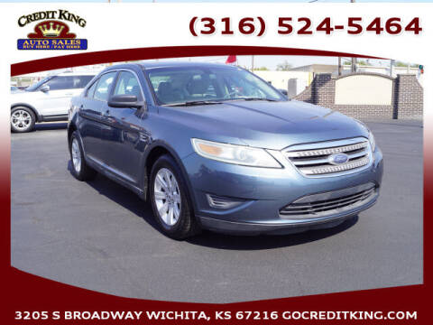 2010 Ford Taurus for sale at Credit King Auto Sales in Wichita KS