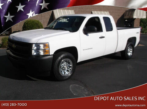 2010 Chevrolet Silverado 1500 for sale at Depot Auto Sales Inc in Palmer MA