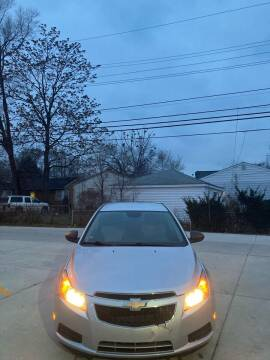 2013 Chevrolet Cruze for sale at Suburban Auto Sales LLC in Madison Heights MI