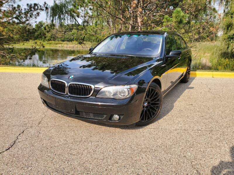 2007 BMW 7 Series for sale at Excalibur Auto Sales in Palatine IL