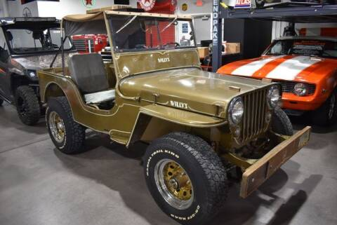 1948 Willys Jeep for sale at Choice Auto & Truck Sales in Payson AZ