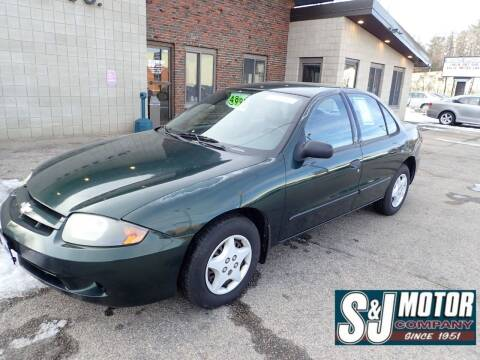 2004 Chevrolet Cavalier for sale at S & J Motor Co Inc. in Merrimack NH