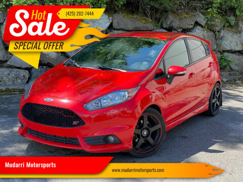 2014 Ford Fiesta for sale at Mudarri Motorsports in Kirkland WA