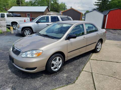 2005 Toyota Corolla for sale at Motorsports Motors LLC in Youngstown OH