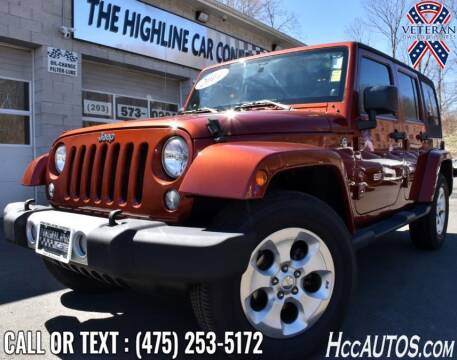 2014 Jeep Wrangler Unlimited for sale at The Highline Car Connection in Waterbury CT