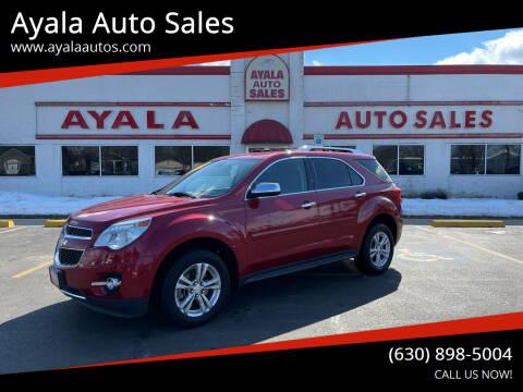 2013 Chevrolet Equinox for sale at Ayala Auto Sales in Aurora IL