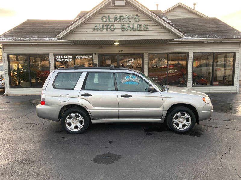 2007 Subaru Forester for sale at Clarks Auto Sales in Middletown OH