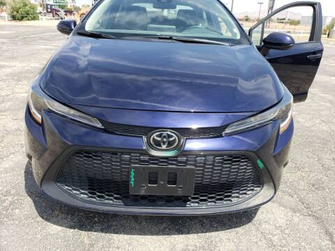 2021 Toyota Corolla for sale at ELITE MOTORS in Victorville CA