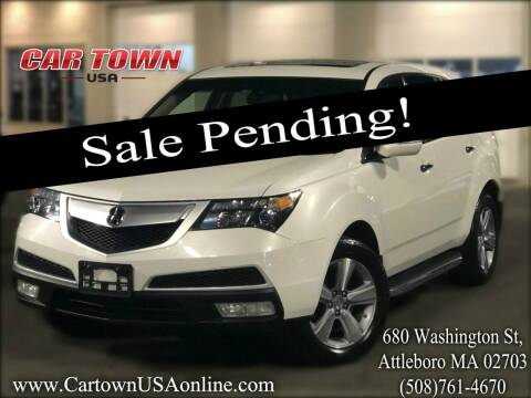 2013 Acura MDX for sale at Car Town USA in Attleboro MA