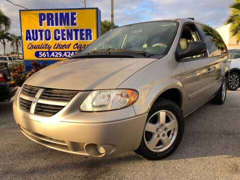 2006 Dodge Grand Caravan for sale at PRIME AUTO CENTER in Palm Springs FL