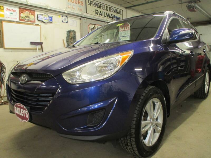 2012 Hyundai Tucson for sale at Percy Bailey Auto Sales Inc in Gardiner ME