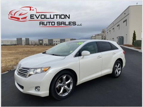 2010 Toyota Venza for sale at Evolution Auto Sales LLC in Springville UT