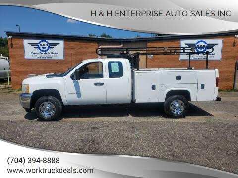 2011 Chevrolet Silverado 2500HD for sale at H & H Enterprise Auto Sales Inc in Charlotte NC