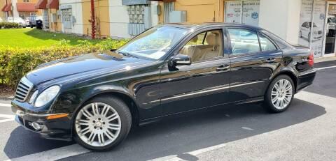 2008 Mercedes-Benz E-Class for sale at POLLO AUTO SOLUTIONS in Miami FL