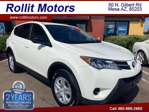 2015 Toyota RAV4 for sale at Rollit Motors in Mesa AZ