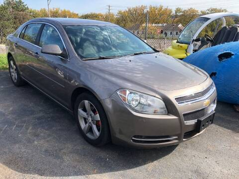 2011 Chevrolet Malibu for sale at Franklyn Auto Sales in Cohoes NY