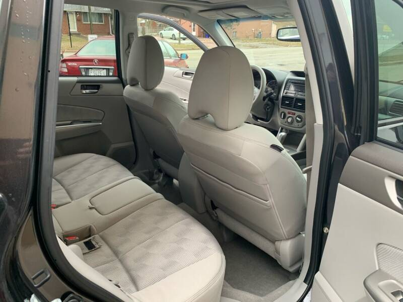 2010 Subaru Forester AWD 2.5X Premium 4dr Wagon 4A - Villa Park IL