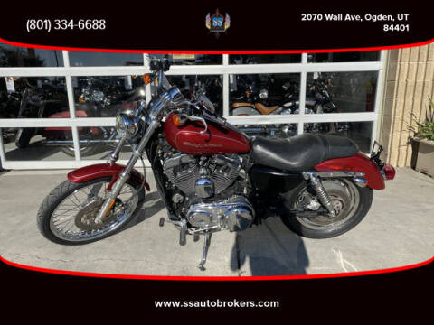 2006 Harley-Davidson XL1200C Sportster 1200 Custom for sale at S S Auto Brokers in Ogden UT