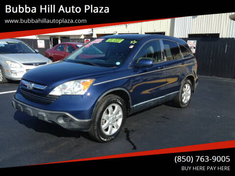 2008 Honda CR-V for sale at Bubba Hill Auto Plaza in Panama City FL