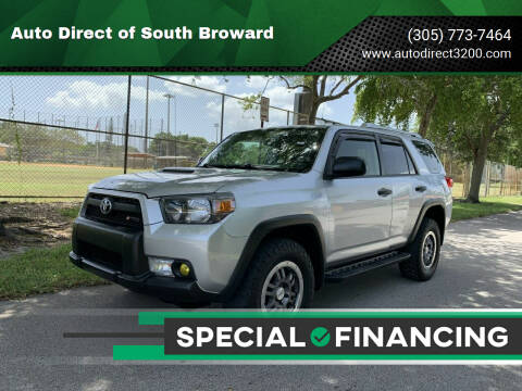 2012 Toyota 4Runner for sale at Auto Direct of South Broward in Miramar FL