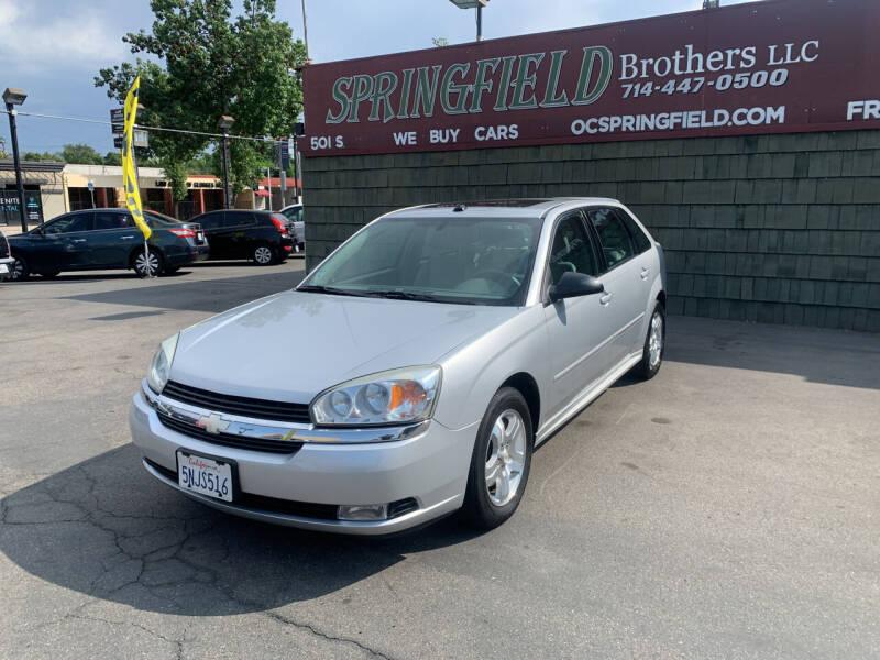 2005 Chevrolet Malibu Maxx for sale at SPRINGFIELD BROTHERS LLC in Fullerton CA
