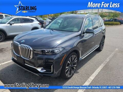 2019 BMW X7 for sale at Pedro @ Starling Chevrolet in Orlando FL