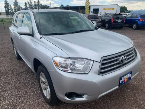 2009 Toyota Highlander for sale at Praylea's Auto Sales in Peyton CO