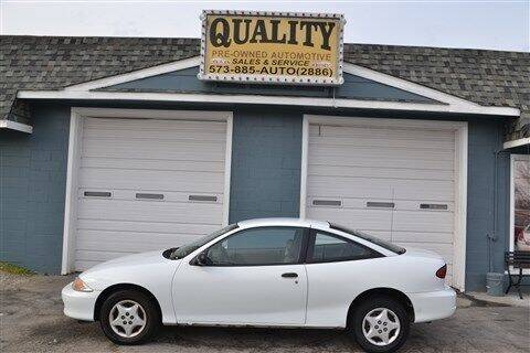 2001 Chevrolet Cavalier for sale at Quality Pre-Owned Automotive in Cuba MO