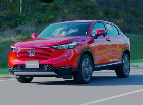 2022 Honda HR-V for sale at Diamante Leasing in Brooklyn NY